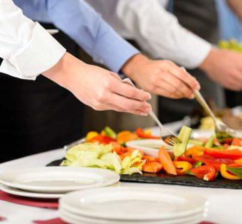 Det er nemt med receptionsmad og mad til reception